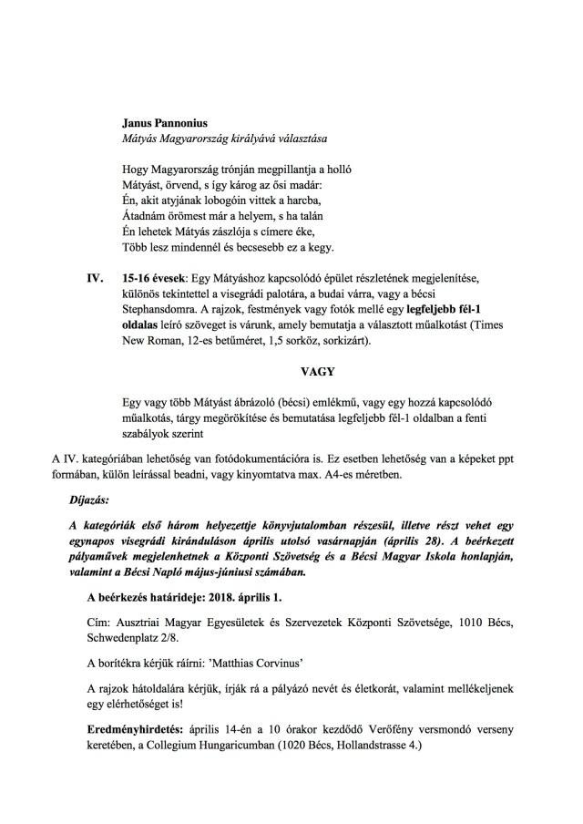 Mátyás rajzpályázat 2.old